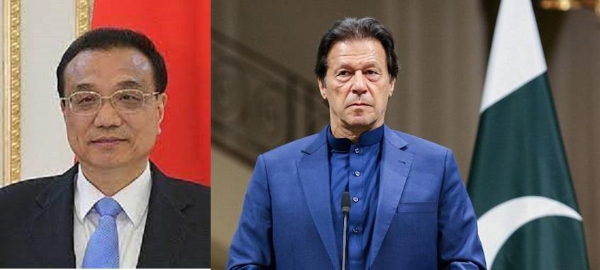 Imran Khan and Li Keqiang
