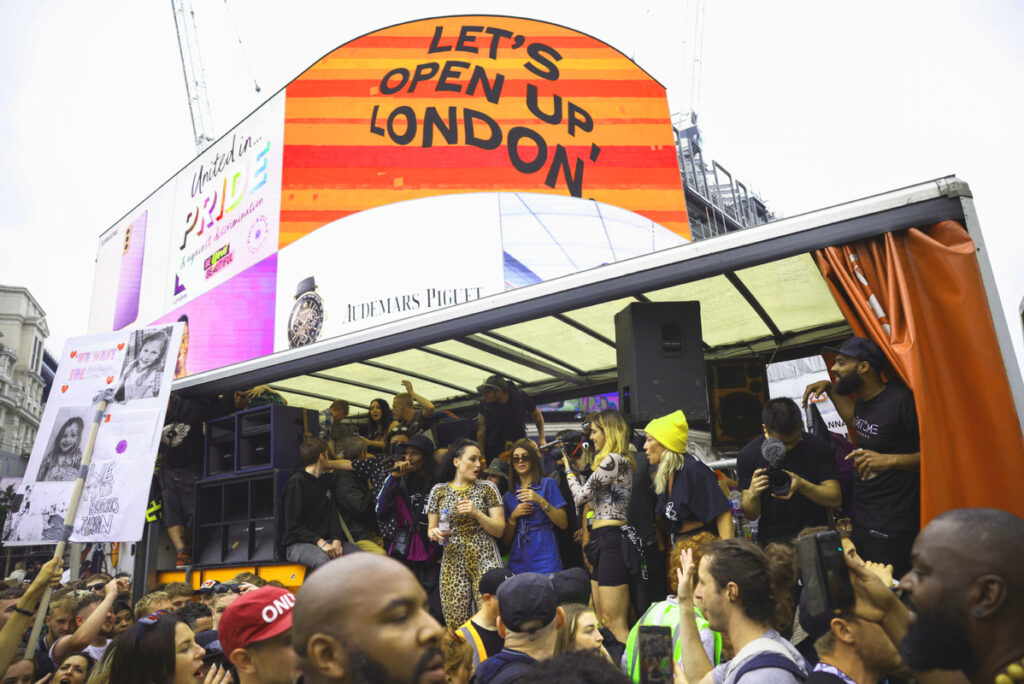 London reopening after covid-19